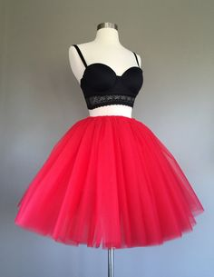 Hey, I found this really awesome Etsy listing at https://www.etsy.com/listing/204172152/tulle-skirt-adult-tutu-adult-red-tutu
