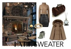 """Cosy weekend"" by julie-lg on Polyvore featuring Lands' End, Topshop, Charles David, GAS Jeans, Disney and Kate Spade"