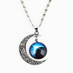 46cm Silverly Womens .925 Sterling Silver Small Winter Frozen Snowflake Pendant Chain Necklace