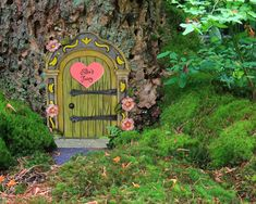 Custom Wedding Rings, Wedding Ring Box, Ring Warming Ceremony, Fairy Doors On Trees, Tooth Fairy Doors, Backyard Swing Sets, Proposal Ring Box, Young Children, Fairytale