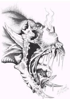 """""""Demon-Lord"""" by Eduardo Lopes Beerli"""