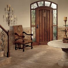 Check out this American Olean product: Vintage Stone in Rhine 8