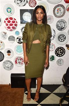 Ciara attends the Topshop dinner for Ciara for Spring/Summer 2016 at New York Fashion Week on Sept. 10, 2015.