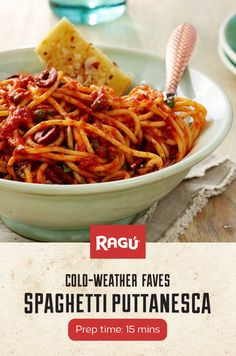 Kalamata olives and capers are the stars of this spaghetti show! It's the perfect dish to get you out of your dinner rut.