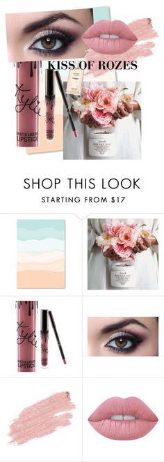 Kiss of rozes by aneta-sundova on Polyvore featuring beauty, Jane Iredale, Lime Crime and Kylie Cosmetics