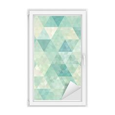 seamless background with abstract geometric ornament Window & Glass Sticker ✓ Easy Installation ✓ 365 Day Money Back Guarantee ✓ Browse other patterns from this collection!