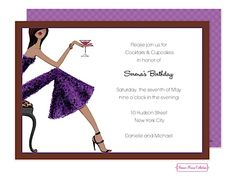 Wine Invitations Change The Wording To Reflect A Chic Tail Party Eccodomanicelebration