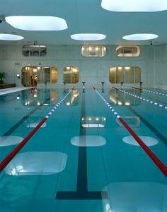 Mikou Studio completes Paris swimming pool designed using Feng Shui philosophy