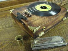 An inspiring homemade cigar box guitar.