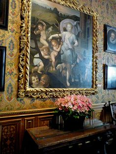 Paintings at Chateau Chenonceau