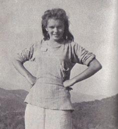 Norma Jeane Mortenson Then Changed To Norma Jeane Baker aka Marilyn Monroe (1942)