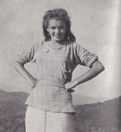 Norma Jeane Mortenson Then Changed To Norma Jeane Baker aka Marilyn Monroe (1942)