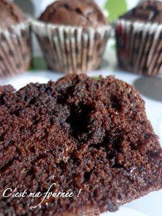 Muffins au Chocolat (meilleurs qu'au Starbucks!) (recette de C.Michalak) - C'est ma Fournee