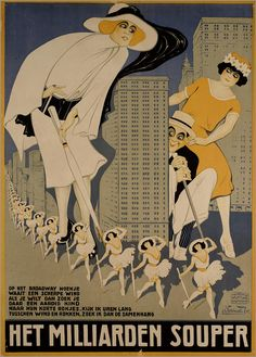 Posters by Charles Verschuuren Dutch-American illustrator Charles Verschuuren (1891–1955) had a long career. Starting out as a teenage cartoonist for local papers in Tilburg, Netherlands, Verschuuren trained in Amsterdam and Paris before creating hundreds of posters, fliers, and advertisements