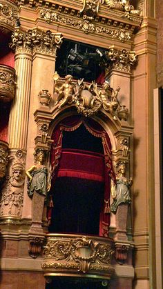 Palais Garnier::Box across from the Emperor's Box | Flickr - Photo Sharing!