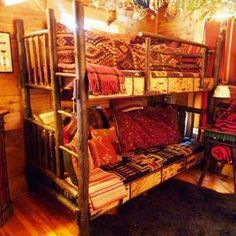 Such  a cute bunk bed! :D