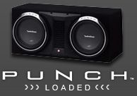 Rockford Fosgate took DNA from it's big brother to provide a great performing bass enclosures.