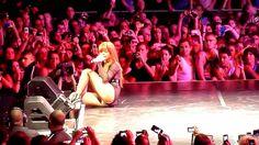 Rihanna Sexy Legs HQ Photos Durin Performance in Sydney
