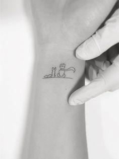little prince tattoo - Tätowieren - Tattoo Designs For Women Little Prince Tattoo, Little Tattoos, The Little Prince, Mini Tattoos, Body Art Tattoos, Tatoos, Little Prince Quotes, Tattoo Diy, Get A Tattoo