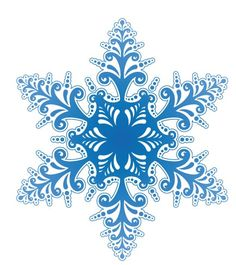 Snowflakes | Pattern Download | The Design Inspiration