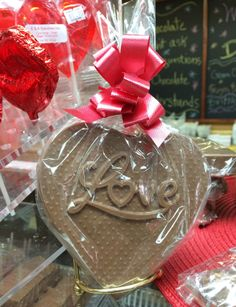 Nothing says love like a chocolate heart <3 www.dunmorecandykitchen.com
