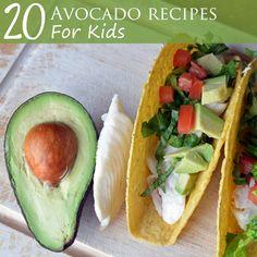 20 Avocado Recipes for Kids