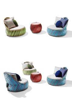 Stephen Burks Dala Lounge Chair