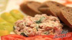 Šunková pomazánka | NejRecept.cz Chutney, Finger Foods, Kids Meals, Potato Salad, Mashed Potatoes, Recipies, Good Food, Food And Drink, Appetizers