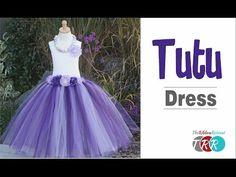 How to Make a Tutu Dress - TheRibbonRetreat.com - YouTube