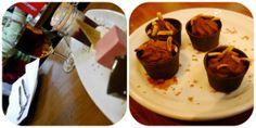Surtido de postres y trufas de chocolate en El Pimpi
