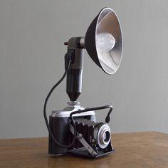 Fab.com   Vintage Ansco Flash Camera