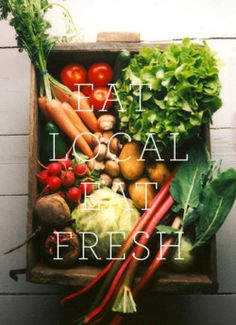 Dinners need not be complicated - choose items that are in season and nutritious! Eat local and eat fresh.