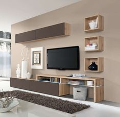 Amsterdam Wall Unit Combination-15974 by Creative Furniture