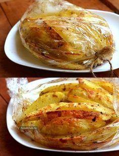 Up potato- Up potato - - Videolu Tarif - Leziz Yemek Tarifleri - Videolu Yemek Tarifleri - Pratik Yemek Tarifleri Vegetable Recipes, Chicken Recipes, Vegetarian Recipes, Healthy Recipes, Easy Cooking, Healthy Cooking, Slow Cooker Recipes, Cooking Recipes, Georgian Food