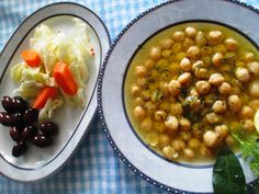 The gastrin: ΡΕΒΥΘΙΑ ΣΟΥΠΑ Black Eyed Peas, Greek Recipes, Chana Masala, Cheeseburger Chowder, Healthy Eating, Vegetables, Sweet, Ethnic Recipes, Greek Beauty
