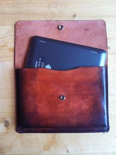 Samsung Notes  Ipad Mini 8 Tablet Leather Case by BroLeatherWorks