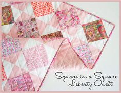 Free project: Liberty Square in a Square quilt – Quilting