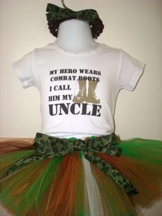 Baby Boy Or Girl Bodysuit Back Off My Uncle Is A Marine W
