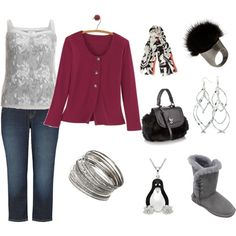 Plus Size Warm and Fuzzies Outfit