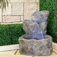 Bond Rock Creek Fountain - Outdoor Fountains at Simply Fountains 150