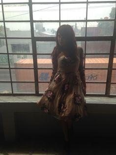 Dulce María. #InStyleBackstage #InStyleCover #InstyleNoviembre #2014