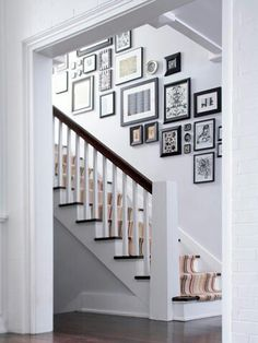 I could wake up and walk down a staircase display like this every day.