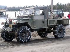 Land Rover, snow chains