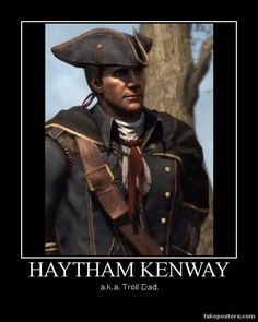 Haytham Kenway. by JohnnyTlad.deviantart.com on @DeviantArt