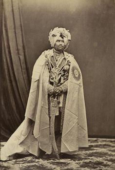 Mahendra Singh, Maharaja of Patiala. 1875.