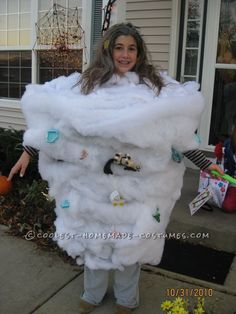 For All Shapes and Sizes Tornado Costume... Coolest Homemade Costumes