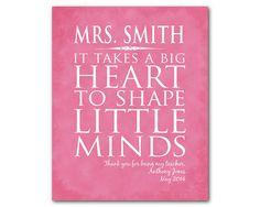 Personalized Teacher Appreciation Gift It by SusanNewberryDesigns