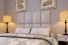 Queen 2 Row Upholstered Headboard | Upholstered Headboards by Heady Bed