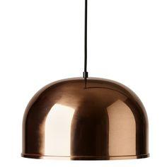 GM 30 pendant, copper, by Menu.