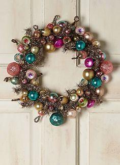 Vintage Bulb Wreath #anthrofave http://rstyle.me/n/s9qb2bh9c7